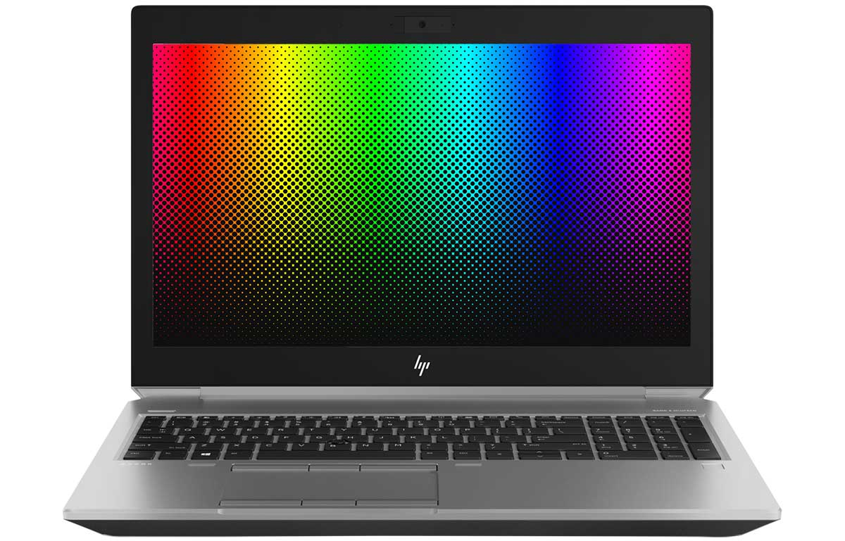 HP ZBook 15 colors